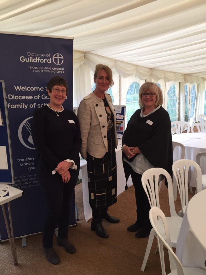 Glynis and Jane with the Mayor of Waverley, Mary Foryszewski.